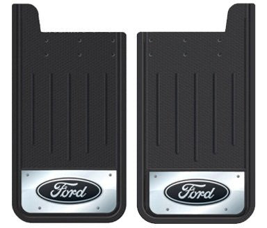 Plasticolor Textured Heavy Duty Mudflaps with Embossed Ford Logo | Auto Truck Depot