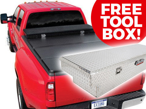 Extang Solid Fold Original Toolbox Tonneau Cover with FREE Toolbox