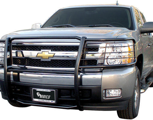 Aries Black Powder Coated Grille Guards