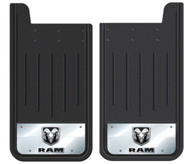 Plasticolor Textured Heavy Duty Mudflaps with Embossed Dodge Ram Logo | Auto Truck Depot