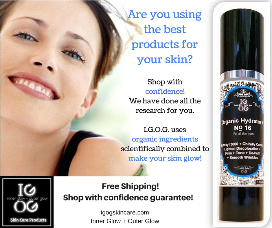 Shop with Confidence, Money Back Guarantee, skin care product research done for you!