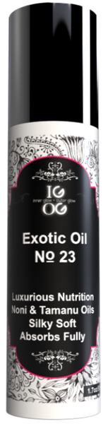 No. 23 - IGOG's Exotic Face & Body Oil (Combination, Dry, Sensitive Skin)