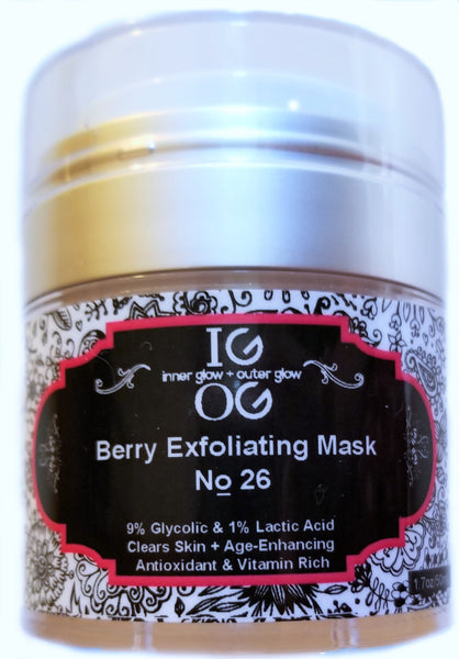 No. 26 - IGOG's Berry Exfoliating Scrubbing Mask