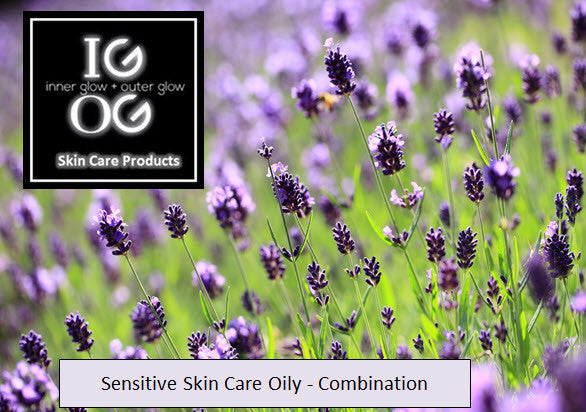 Kit: Sensitive - Oily/Combo Skin Care