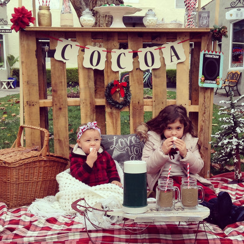 Holiday Hot Cocoa Booth