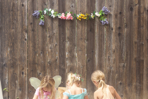 One Little Girl's Fairy Birthday Party