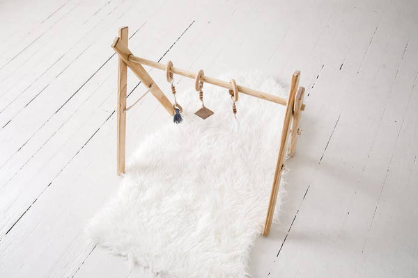 Clover and Birch - Timber Activity Gym