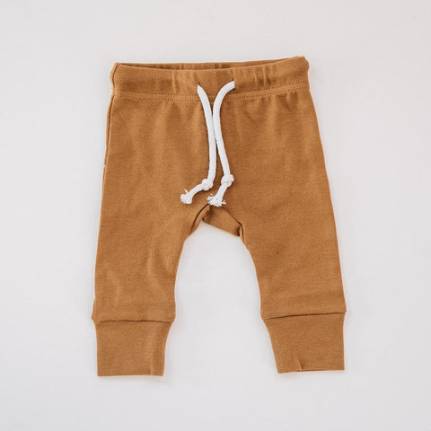 Infant - Cotton Joggers - Honey