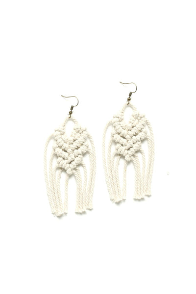 Soul of the Party - Macrame  Earrings