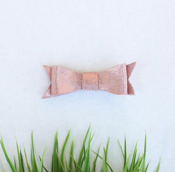 Wild Juniper - Rose Gold Baby Bow