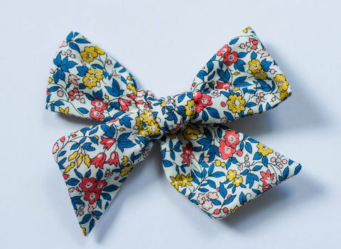 Wanderlust and Mayhem - Liberty Of London Forget Me Not Hair Bow