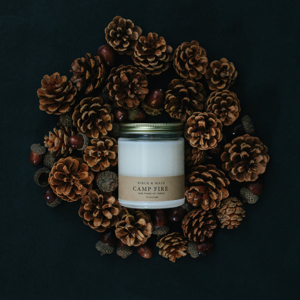 Birch & Main - Campfire Soy Candle - Seasonal