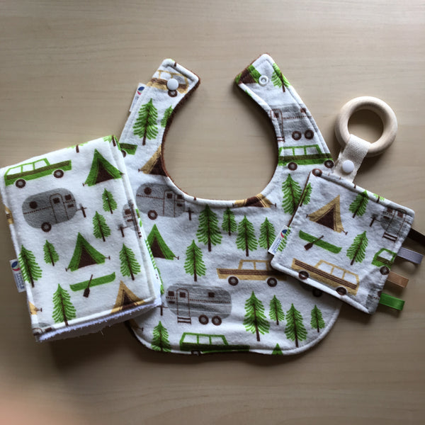 Liddle Handmade - Retro Camping Wooden Sensory Teether