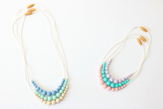 Silicone Teething Necklace - Adult