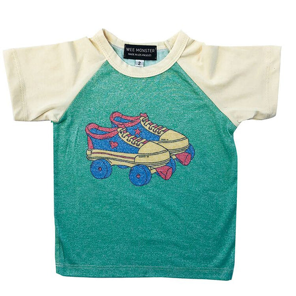 Wee Monster - Roller Skate Short Sleeve Raglan