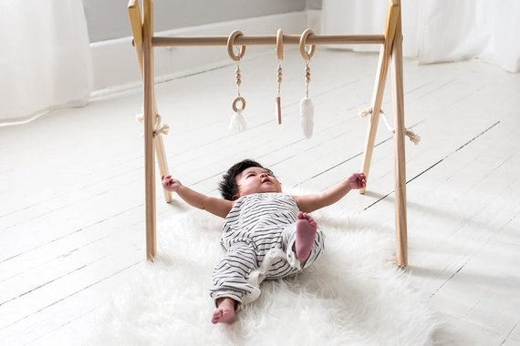 Clover and Birch - Gold Baby Play Gym