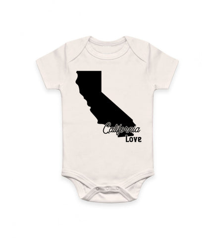 Infant - Organic Bodysuit - California Love