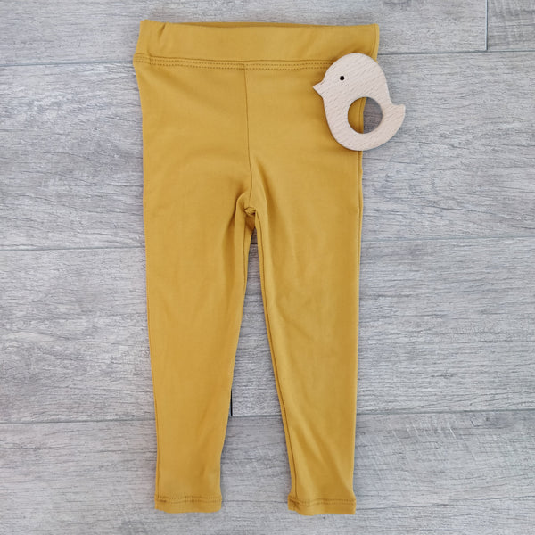 Toddler - Mustard Leggings