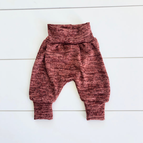 Infant Pants - Heather Rust Sweater