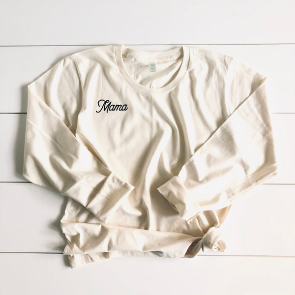 Mama - Organic Cotton Long Sleeve
