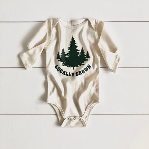 Infant - Organic Bodysuit - Locally Grown