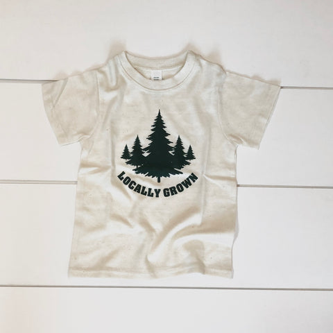 Recycled Poly Cotton Toddler Tee - Locally Grown