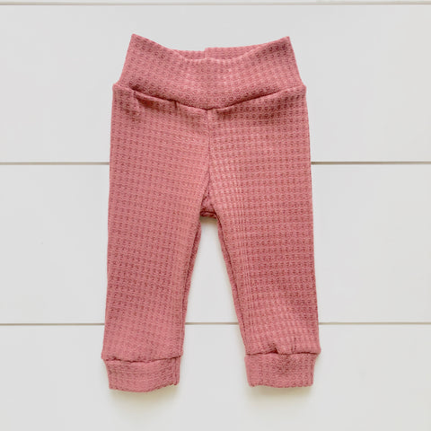 Infant Pants - Mauve Thermal