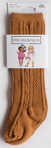 Little Stocking Co. - Honey Ginger Knee High Socks