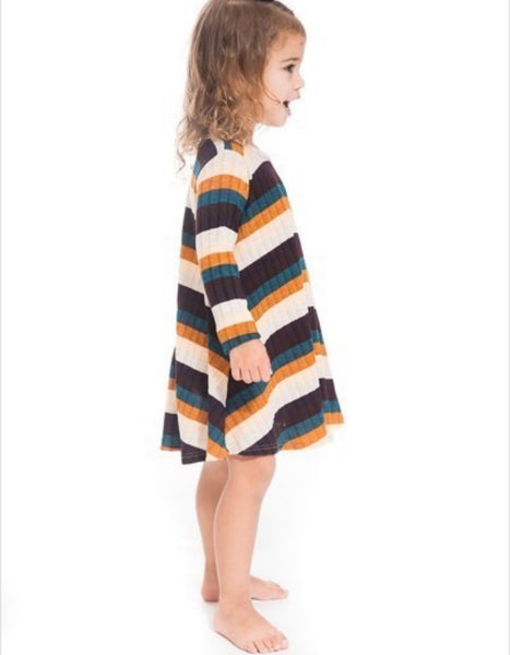 Retro Stripe - Tot Dress