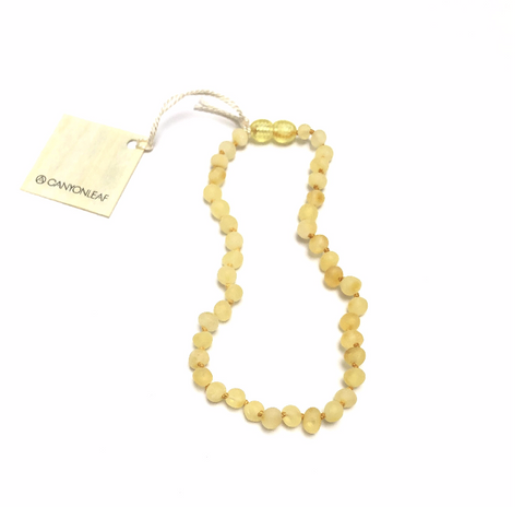 CanyonLeaf - Raw Butterscotch Amber Necklace