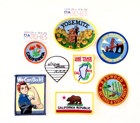 Camp Stripes Patch Collection