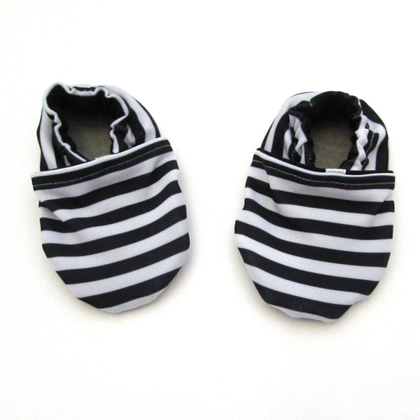 Cabooties - Striped Swim Baby Shoes