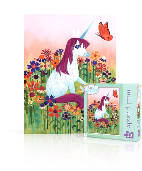 New York Puzzle Company - The Unicorn Mini Puzzle