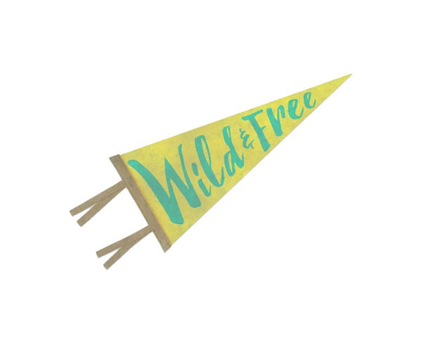 The Rise And Fall - Wild & Free Pennant