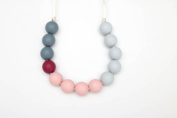 Teething Necklace - Multicolor