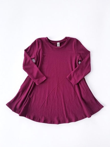 Dark Wine - Tot Dress