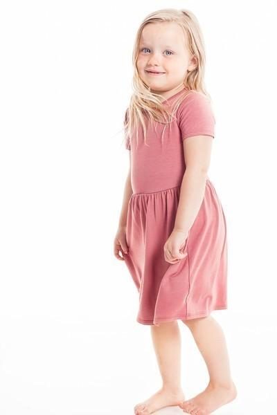 Dusty Rose - Tot Dress
