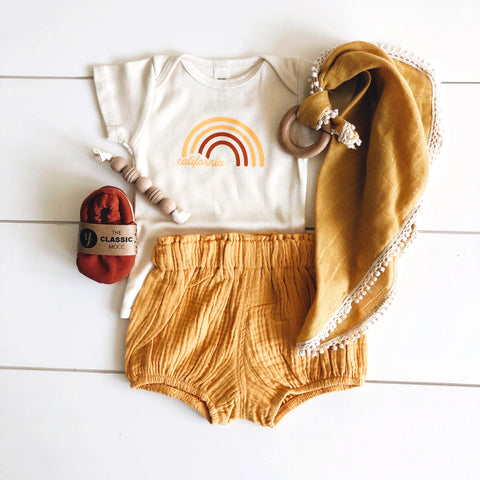 Infant - Organic Bodysuit - California Golden State