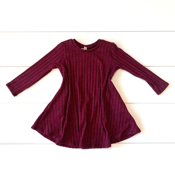 Toddler - Sweater Knit Dress w/Pockets