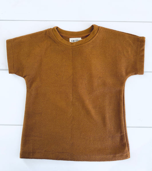 Infant & Toddler - Terry Tee - Mocha