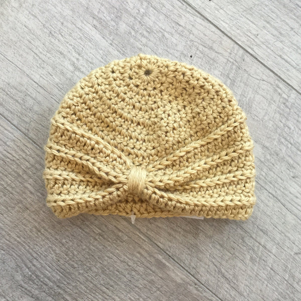 The Crafty Nana - Turban Hat