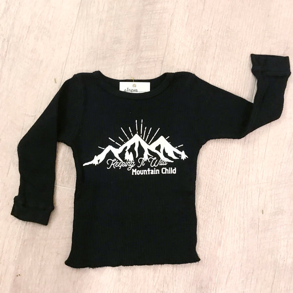 Keeping it Wild - Infant Long Sleeve Thermal Tee