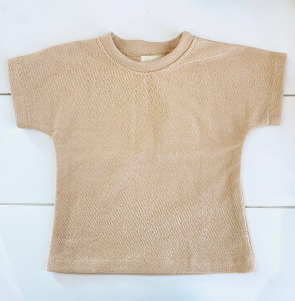 Infant & Toddler - Terry Tee - Wheat