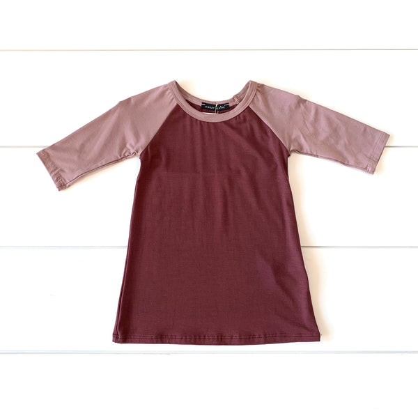 Toddler - Raglan Tshirt Dress