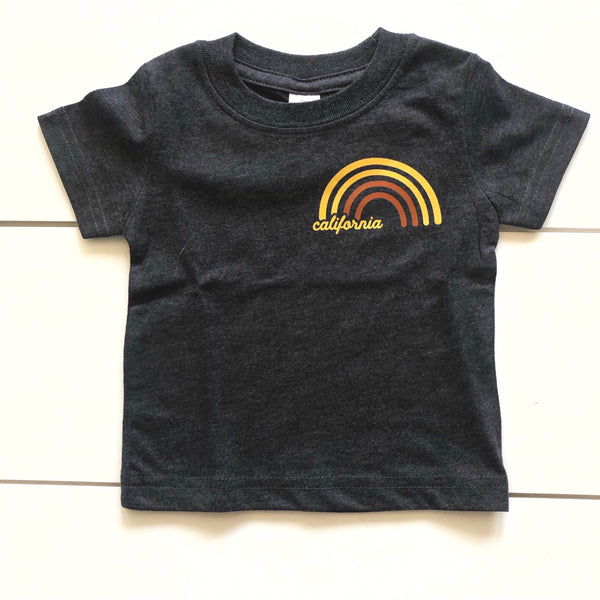 Infant - California Golden State Tee Grey