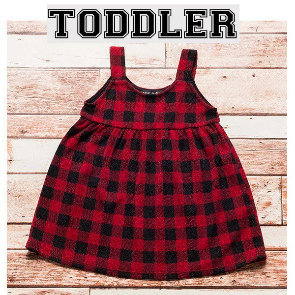 Red & Black Plaid - Tot Dress