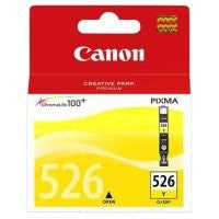 Canon CLI-526Y Chroma Life 100+ Ink Cartridge - Yellow - akcom.net  - 1