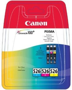 Canon CLI 526 Multipack Ink Cartridge- Blister Cyan Yellow Magenta - akcom.net  - 1