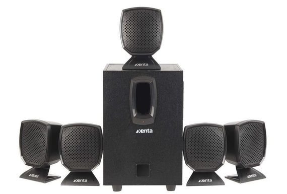 Xenta 5.1 Surround Sound Speaker System - akcom.net