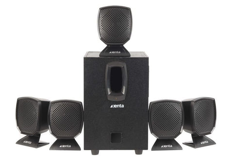 Xenta 5.1 Surround Sound Speaker System - akcom.net  - 1